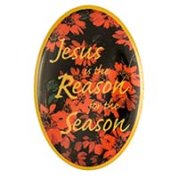 Jesus is the Reason Christmas Lapel Pin