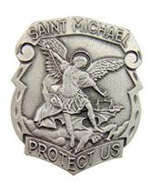 St. Micheal's Protect Me Auto Sun Visor Clip
