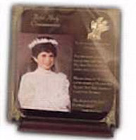 Communion Wood Plexiglass Picture Frame