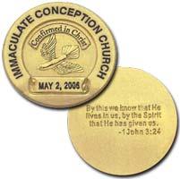 Semi-Custom Confirmation Coin