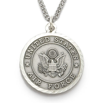 St michael sterling silver military necklace st michael army necklace aloadofball Images