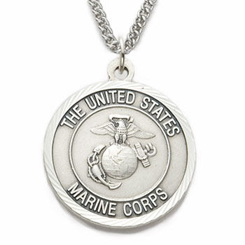 St. Michael Marine Necklace