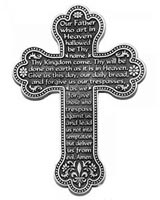 Lords prayer Cross