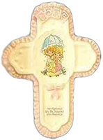 The Righteous Shall be Showered With Blessings Cross