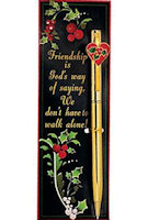 Friendship Pen & Bookmark Set