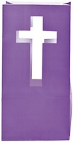 Cross Luminary Purple Bags