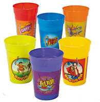 Fantastic Faith  Tumblers Plastic (Pkg of 12)