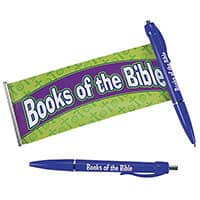 Books of the Bible Scroll Pens
