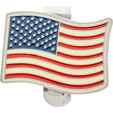 American USA Flag Visor Clip