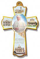 Pope Francis Wall Cross