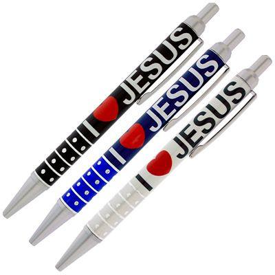 I Love Jesus Pen with Heart