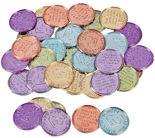 Kindness to Others Coins  (Pkg of 144)