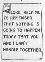 Lord Help Me to Remember Parking Sign