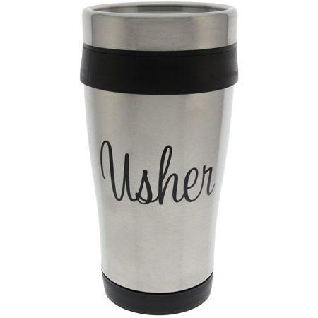 Church Usher Travel Mug Stainless Steel