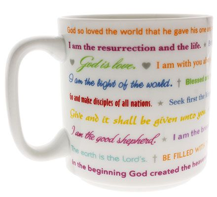 Famous Bible Quotes Coffee Mug Ceramic