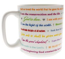 Famous Bible Quotes Coffee Mug - Ceramic