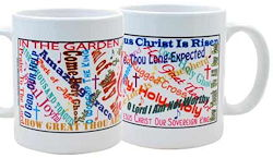 Familiar Church Song Titles Coffee Mug