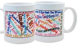 Favorite Christian Songs Titles Coffee Mug