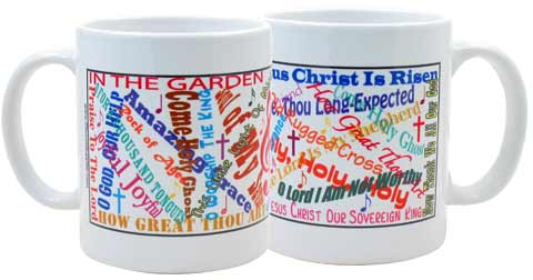 Coffee Mug - Church Songs Titles
