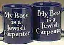 My Boss is a Jewish Carpenter Mug