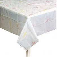 Cross Plastic Celebration Tablecloth