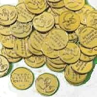 Wedding Appreciation Thanks Coins (Pkg of 144)