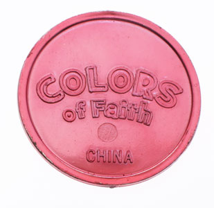 Colors of Faith Christian Tokens - Pk of 144