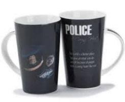 Police Caring Large Ceramic Mug