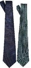 Subtle 3 Crosses Men's Neck Tie