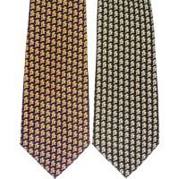 Subtle 3 Crosses Men's Neck Tie