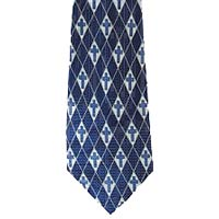 Mens Dress Tie Diamond Cross Tie
