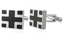 Greek Cross Cufflinks