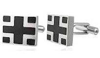 Greek Cross Cufflinks