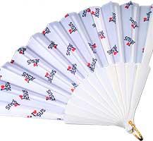 I Love Jesus Foldable Hand Fans