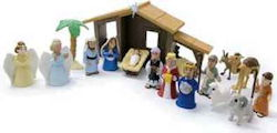 Nativity Set Tales of Glory 17 Pieces