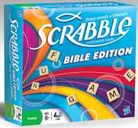 Scrabble Bible Edition Board Game
