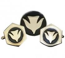 Holy Spirit Dove Cuff Links Gold Plated