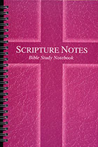 Scripture Notes Bible Study Notebook