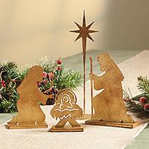 Christmas Nativity Tabletop Set