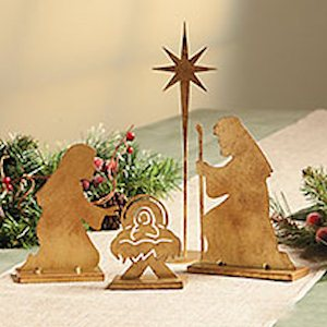 Christmas Nativity Tabletop Set
