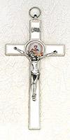 8 inch Enamel First Communion Cross