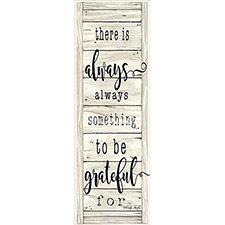 Always Be Grateful Wood Sign