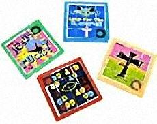Christian Plastic Slide Puzzles