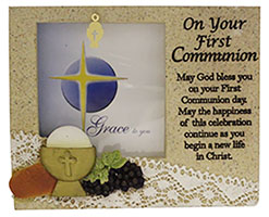 Communion Resin Picture Frame