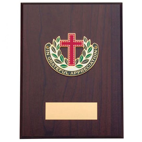 In Grateful Appreciation Wood Plaque