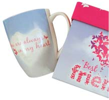 Best Friend, Friendship Butterfly Gift Mug