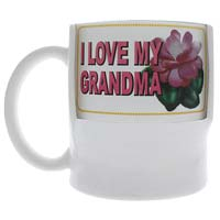Grandma Mugs - Change a Message