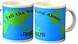 Tell the World About Jesus Mug
