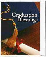 Graduation Blessing Cards Bargain Packs of 6