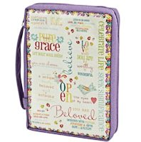 Grace Believe Bible Cover